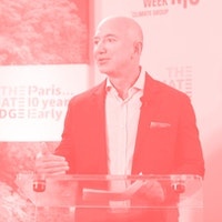Jeff Bezos now throwing money toward cleaning up the climate mess he made