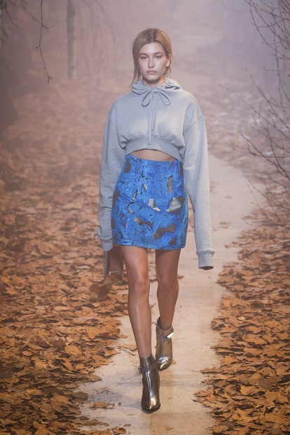 Hailey Bieber's outfits on the runway at Fashion Week are always epic. See 40 of her best model mome...