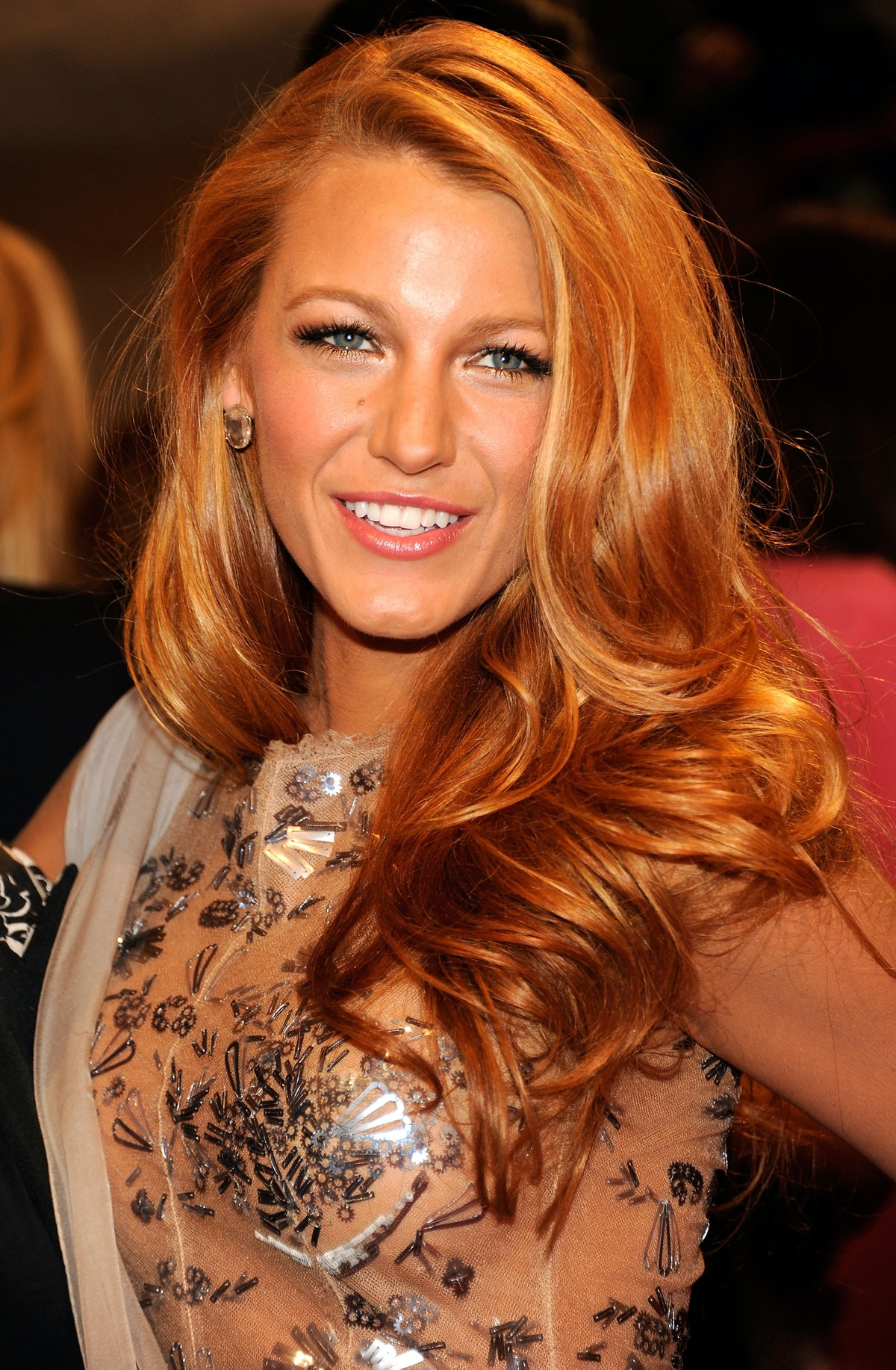 """NEW YORK, NY - MAY 02:  Blake Lively attends the """"Alexander McQueen: Savage Beauty"""" Costume Institut..."""