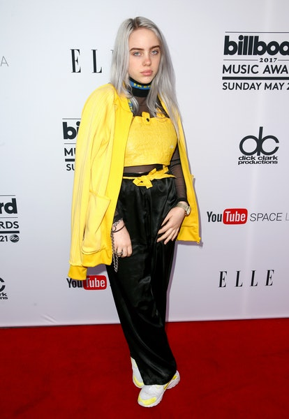 LOS ANGELES, CA - MAY 16:  Singer Billie Eilish attends the '2017 Billboard Music Awards' And ELLE P...
