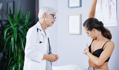 Regular breast exams are important as you get older.