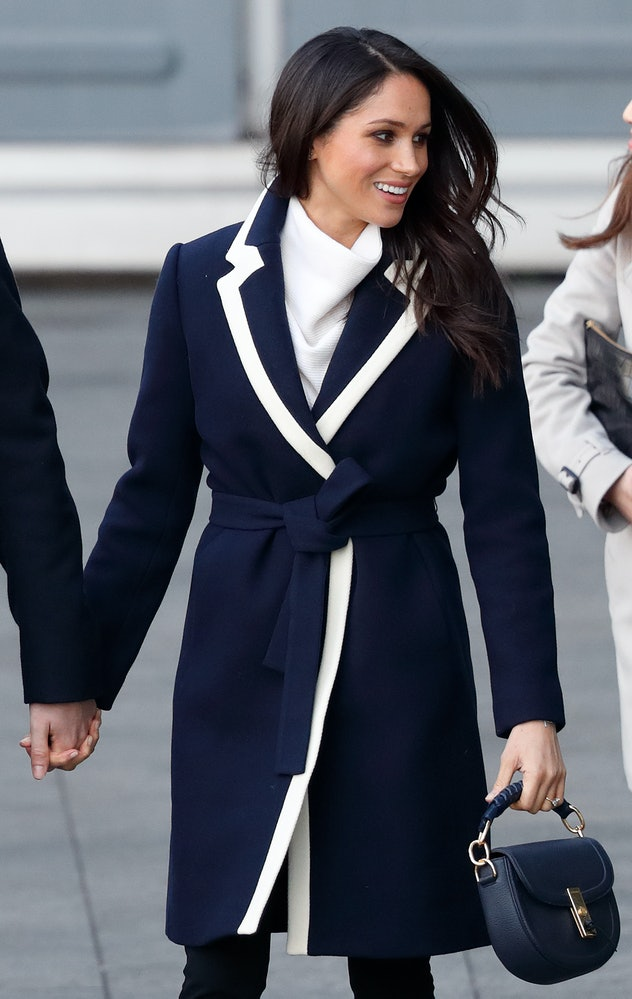 Meghan Markle's nautical look is perfect for fall.