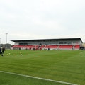 The Hayes And Yeading stadium is one of the 'Ted Lasso' filming locations. (Photo by David Rogers/Ge...