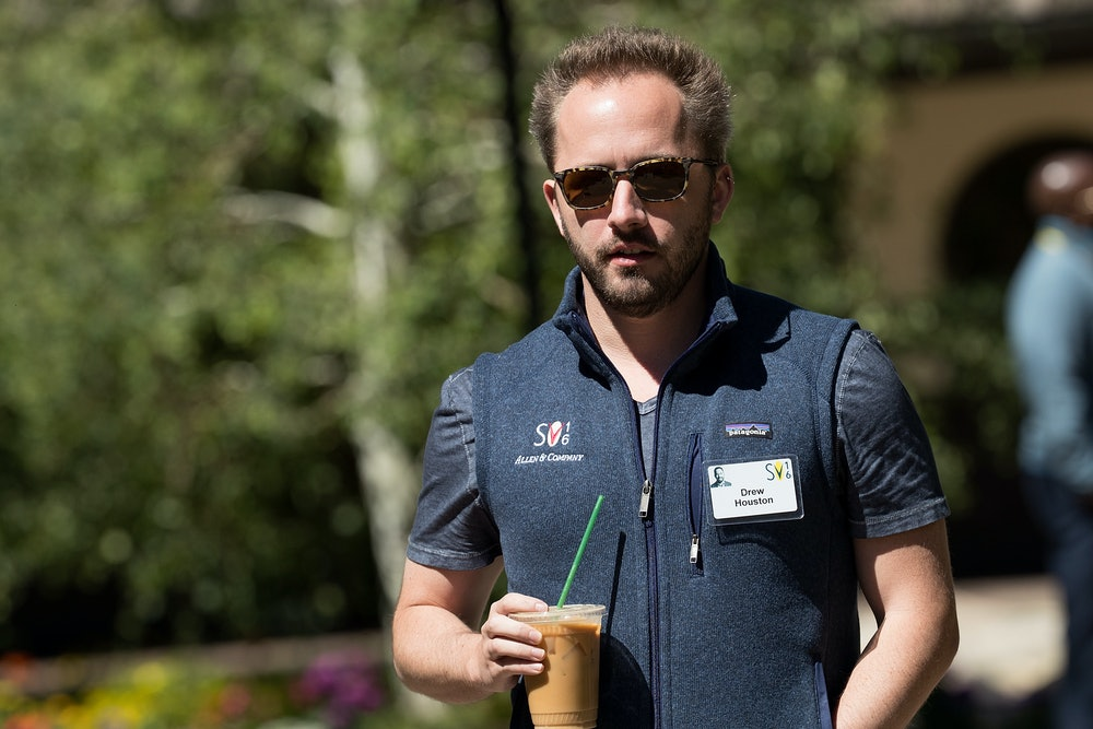 SUN VALLEY, ID - JULY 7: Drew Houston, CEO of Dropbox, attends the Allen Annual Conference ...