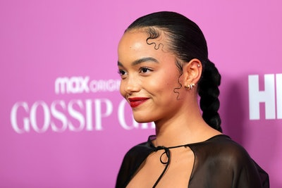 "NEW YORK, NEW YORK - JUNE 30: Whitney Peak attends the ""Gossip Girl"" New York Premiere at Spring Stu..."