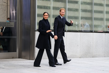 Prince Harry and Meghan Markle are in New York City until this weekend.