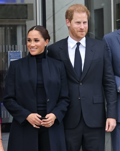 Prince Harry and Meghan Markle are currently in New York City.