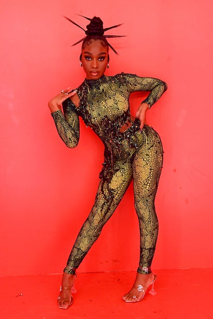 LOS ANGELES, CALIFORNIA - SEPTEMBER 23: In this image released on September 23, Normani performs dur...