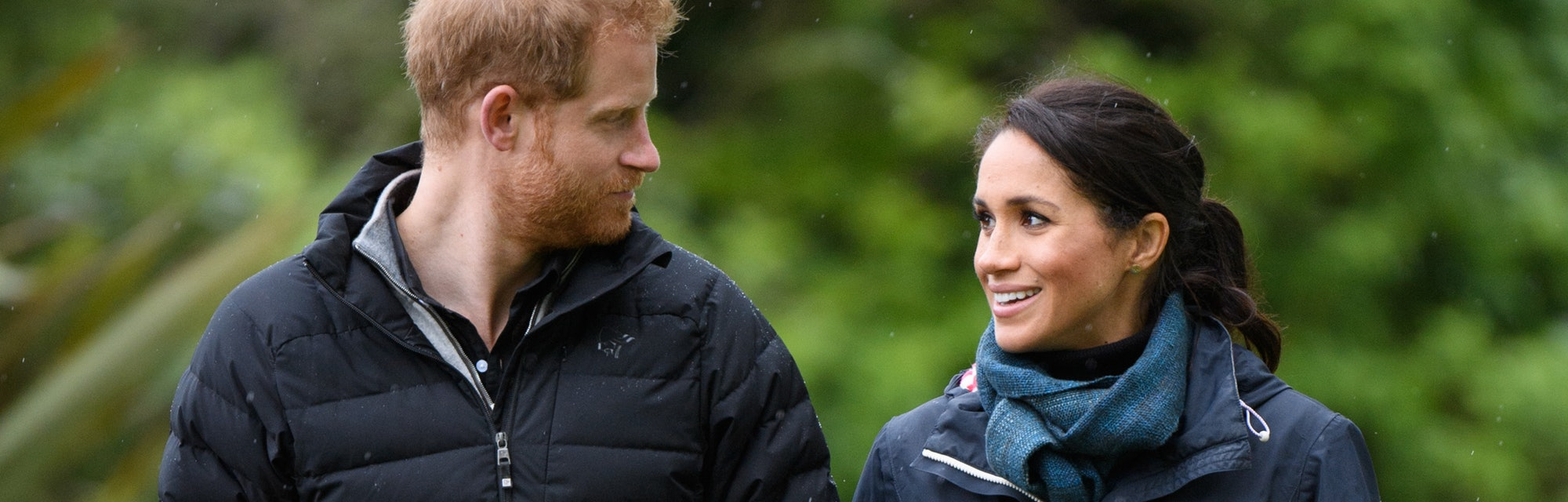 WELLINGTON, NEW ZEALAND - OCTOBER 29:  (UK OUT FOR 28 DAYS) Prince Harry, Duke of Sussex and Meghan,...