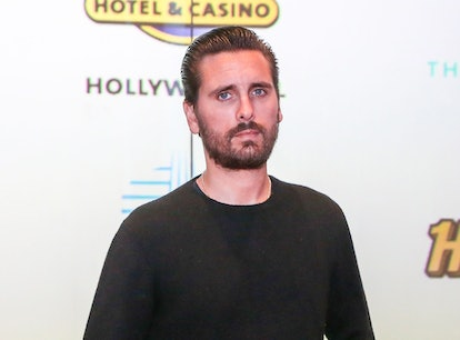 US media personality Scott Disick attends the Grand Opening of the Guitar Hotel expansion at Seminol...