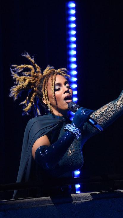 Jade Novah performing at the opening of Rihanna's Savage X Fenty Show Vol. 3.