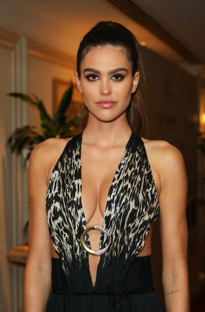 LONDON, ENGLAND - SEPTEMBER 17:  Amelia Gray Hamlin attends The Icon Ball during London Fashion Week...