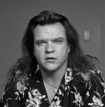 Singer Meat loaf poses for a portrait in London circa 1985 (Photo by Dave Hogan/Getty Images)