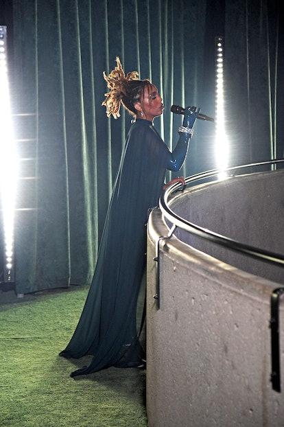 LOS ANGELES, CALIFORNIA - SEPTEMBER 23: In this image released on September 23, Jade Novah performs ...