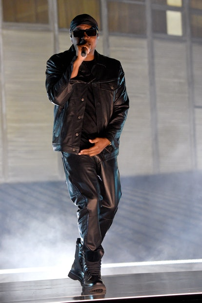 LOS ANGELES, CALIFORNIA - SEPTEMBER 23: In this image released on September 23, Nas performs during ...