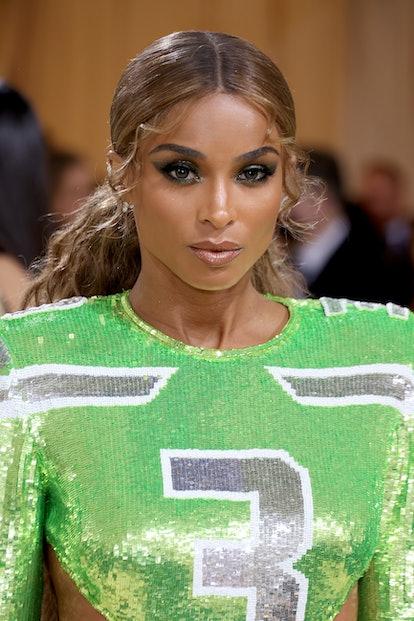 NEW YORK, NEW YORK - SEPTEMBER 13: Singer Ciara attends The 2021 Met Gala Celebrating In America: A ...