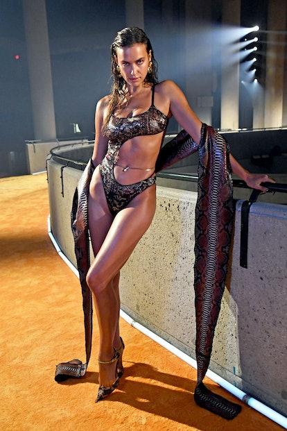 LOS ANGELES, CALIFORNIA - SEPTEMBER 23: In this image released on September 23, Irina Shayk is seen ...