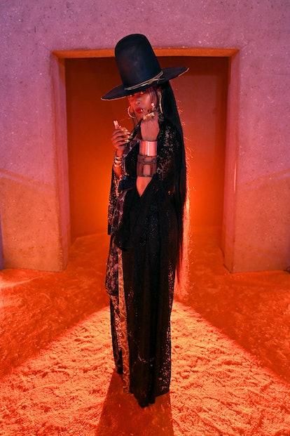 LOS ANGELES, CALIFORNIA - SEPTEMBER 23: In this image released on September 23, Erykah Badu is seen ...