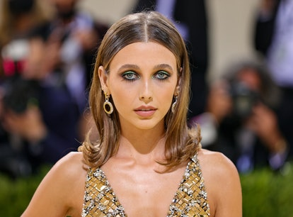 Emma Chamberlain at the 2021 Met Gala. Wear this look for Halloween.