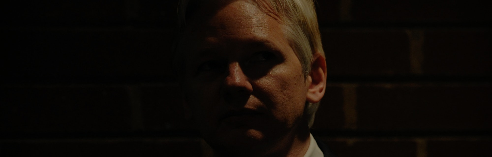 WikiLeaks founder Julian Assange attends a debate on the subject of whistle-blowing with prominent p...
