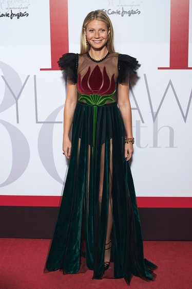 MADRID, SPAIN - OCTOBER 26:  Gwyneth Paltrow attends ELLE Magazine 30th anniversary party at Circulo...