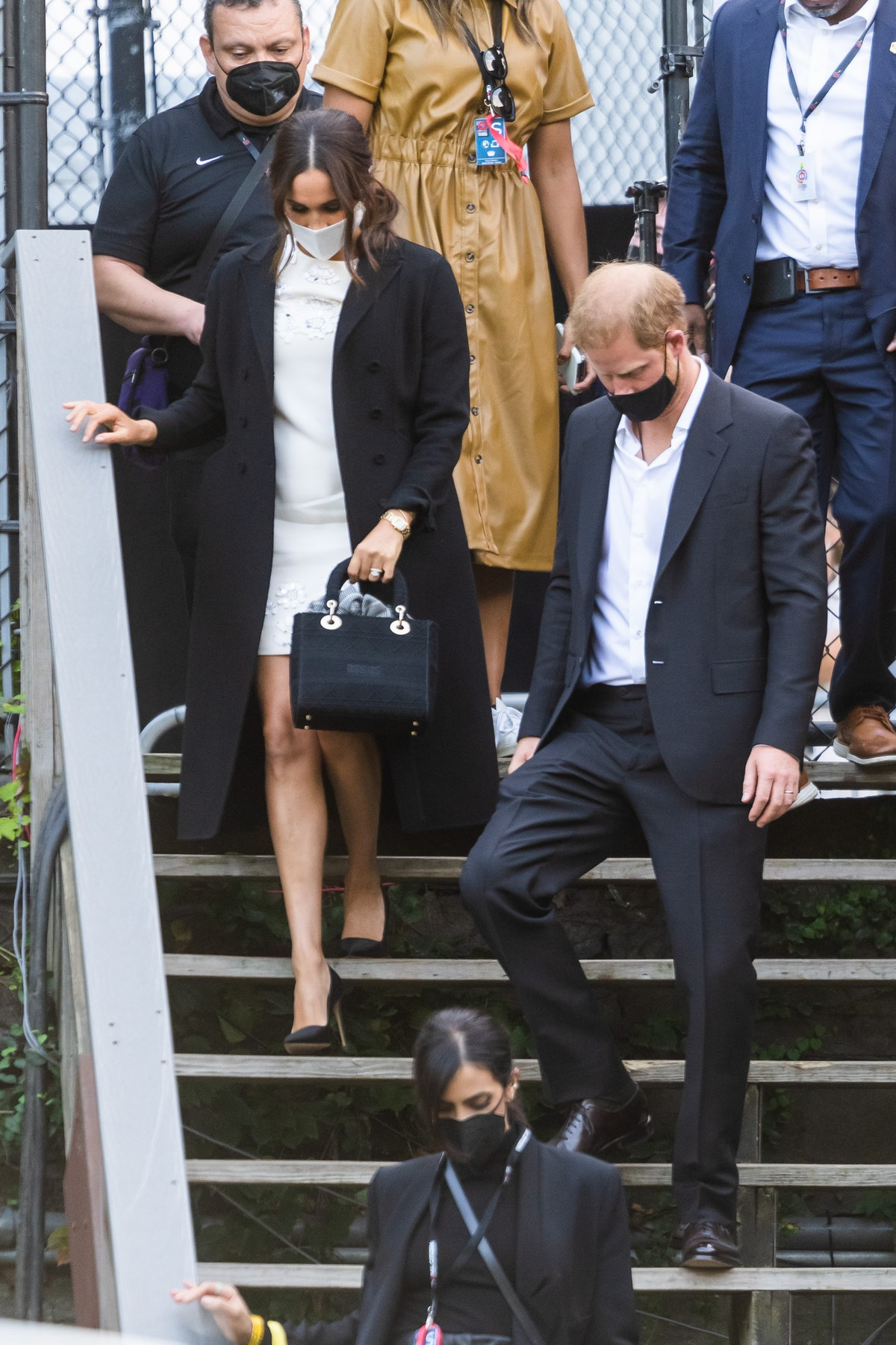 NEW YORK, NEW YORK - SEPTEMBER 25: Meghan Markle, Duchess of Sussex, and Prince Harry, Duke of Susse...