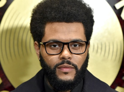 The Weeknd attends the Music in Action Awards Ceremony in Hollywood amidst rumors that he is dating ...
