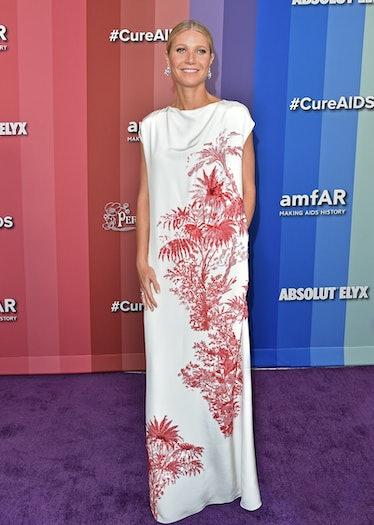 LOS ANGELES, CALIFORNIA - OCTOBER 10: Gwyneth Paltrow attends the 2019 amfAR Gala Los Angeles at Mil...