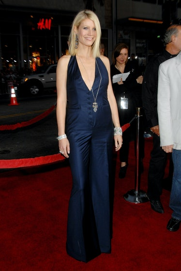 """Actress Gwyneth Paltrow arrives at the Los Angeles Premiere """"Iron Man"""" at the Grauman's Chinese Thea..."""