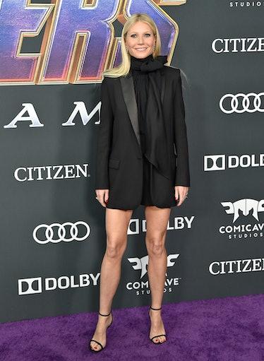 LOS ANGELES, CALIFORNIA - APRIL 22: Gwyneth Paltrow attends the World Premiere of Walt Disney Studio...