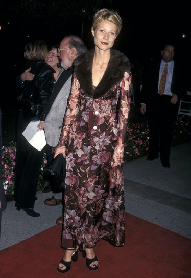 """Actress Gwyneth Paltrow attends the """"Hard Eight"""" Hollywood Premiere on February 23, 1997 at Paramoun..."""
