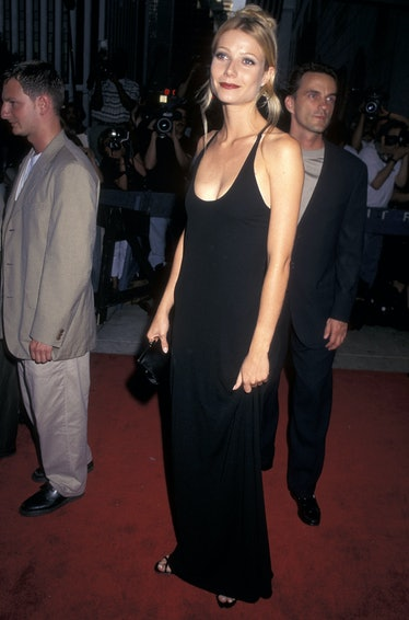 """Actress Gwyneth Paltrow attends the """"Emma"""" New York City Premiere on July 22, 1996 at the Paris Thea..."""