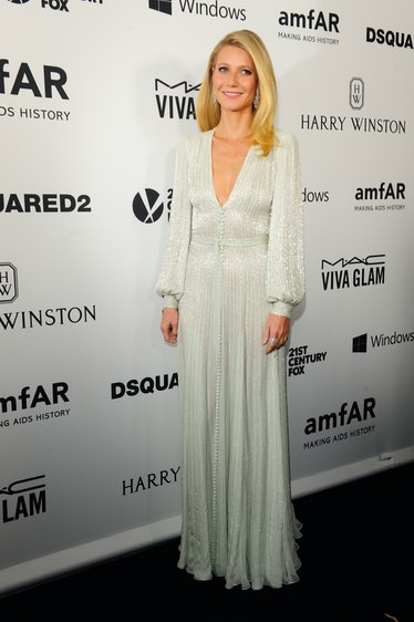 HOLLYWOOD, CA - OCTOBER 29: Gwyneth Paltrow attends amfAR's Inspiration Gala  in Los Angeles on Sept...