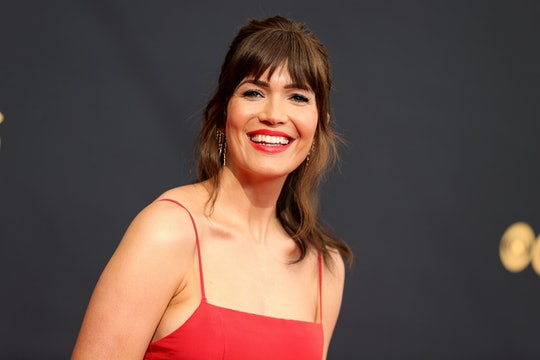 LOS ANGELES, CALIFORNIA - SEPTEMBER 19: Mandy Moore attends the 73rd Primetime Emmy Awards at L.A. L...