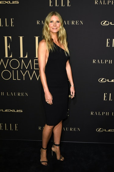 US actress Gwyneth Paltrow arrives for the 26th annual ELLE Women in Hollywood Celebration in Beverl...