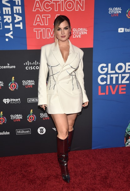 LOS ANGELES, CALIFORNIA - SEPTEMBER 25: Jojo attends the 2021 Global Citizen Live, Los Angeles at Th...