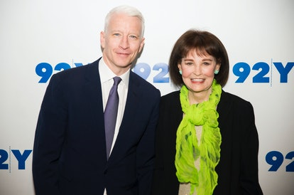 NEW YORK, NY - APRIL 14:  Anderson Cooper and Gloria Vanderbilt attend A Conversation With Anderson ...