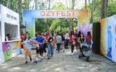 NEW YORK, NY - JULY 22:  Guests attend OZY Fest 2018 at Rumsey Playfield, Central Park on July 22, 2...