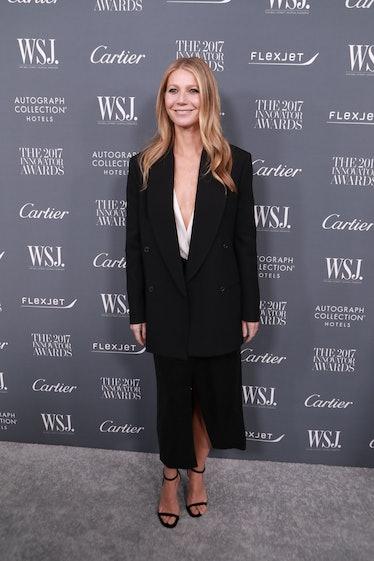 NEW YORK, NY - NOVEMBER 01:  Gwyneth Paltrow during the WSJ Magazine 2017 Innovator Awards  at Museu...
