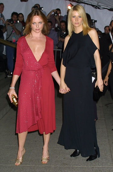 388208 17: Designer Stella McCartney and actress Gwyneth Paltrow attend The Costume Institute Gala t...