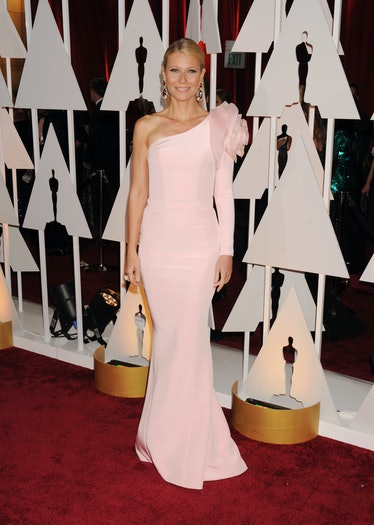 HOLLYWOOD, CA - FEBRUARY 22: Actress Gwyneth Paltrow arrives at the 87th Annual Academy Awards at Ho...