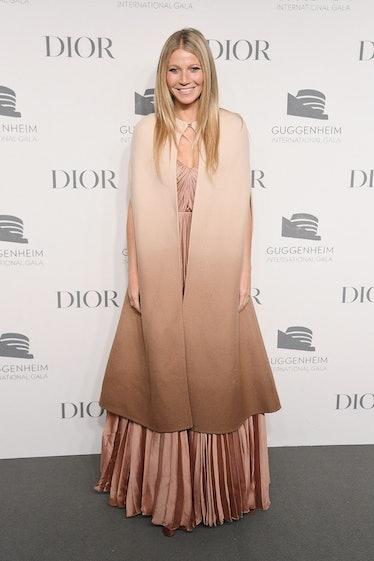 NEW YORK, NY - NOVEMBER 15:  Gwyneth Paltrow attends the Guggenheim International Gala Dinner made p...