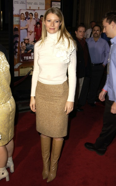 """Gwyneth Paltrow during """"The Royal Tenenbaums"""" Los Angeles Premiere at El Capitan Theatre in Hollywoo..."""