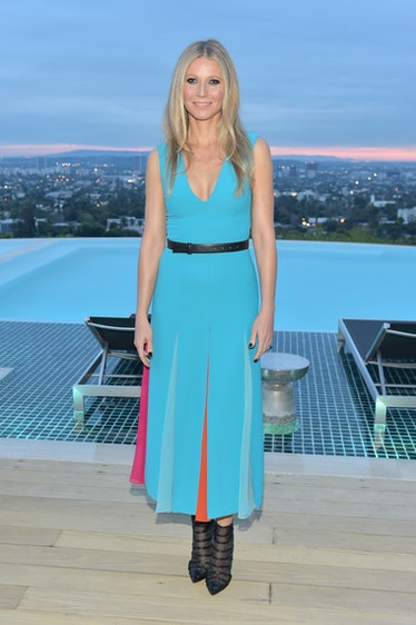 LOS ANGELES, CA - MARCH 20:  Gwyneth Paltrow attends The Hollywood Reporter and Jimmy Choo Power Sty...