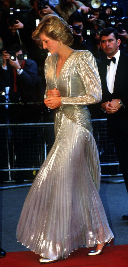 Kate Middleton's 'No Time To Die' premiere look channeled Princess Diana and made a lasting impressi...