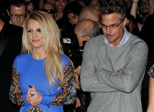 Britney Spears and Jason Trawick in 2012.