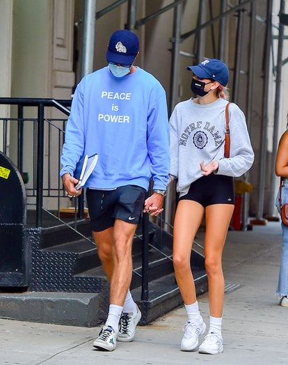 Kaia Gerber and Jacob Elordi took a stroll in New York City in September 2020.