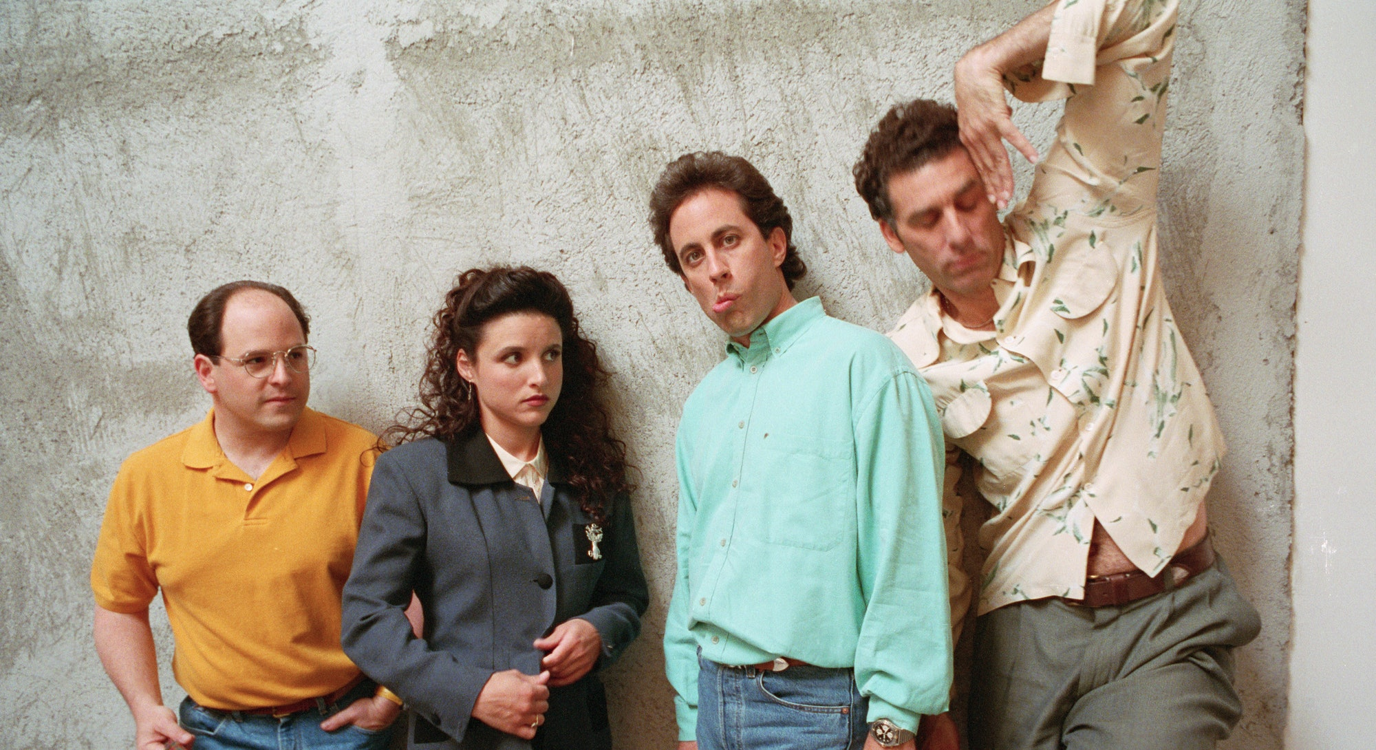 The Cast of Seinfeld   (Photo by David Turnley/Corbis/VCG via Getty Images)