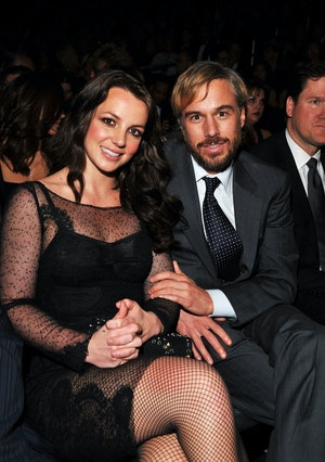 Britney Spears and Jason Trawick in 2010.