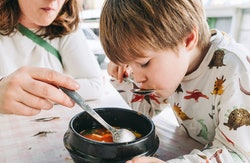 These kid-friendly soup recipes are easy to make and enjoy together.